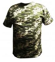 Камуфлированная футболка пиксель пограничный АКЦИЯ 30%