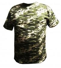 Купить Камуфлированная футболка пиксель пограничный АКЦИЯ 30% в интернет-магазине Каптерка в Киеве и Украине