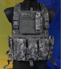 Разгрузка GFС Tactical Польша камуфляж ACU