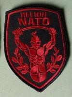 Легион NATO шеврон с липучкой