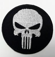 Нашивка Череп - Punisher Patch вышивка