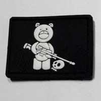 Резиновый шеврон Teddy Bear PVC