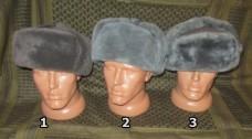 Шапка-ушанка армии ГДР