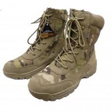 Облегченные ботинки MIL-TEC Multicam на молнии YKK