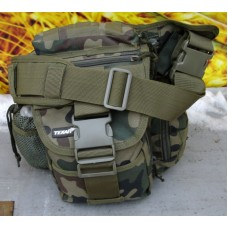 Сумка тактическая типа EDC камуфляж Вудланд. Texar (Польша)