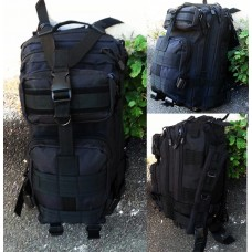 25л рюкзак чорний GFC
