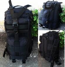 Купить 25л рюкзак черный GFC в интернет-магазине Каптерка в Киеве и Украине