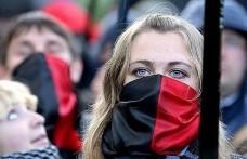 Бандана красно-черная