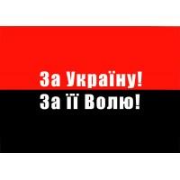 Флаг За Україну За її Волю!
