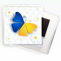 Магнит Украина Бабочка
