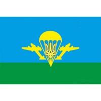 Флаг ВДВ с тризубом