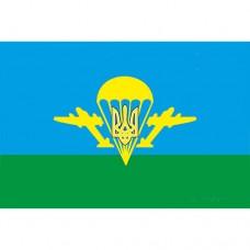 Купить Флаг ВДВ с тризубом в интернет-магазине Каптерка в Киеве и Украине