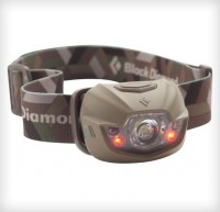 Налобный фонарик Black Diamond Spot Olive с красными светодиодами