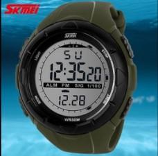 Купить Часы тактические SKMEI 1025 Olive в интернет-магазине Каптерка в Киеве и Украине