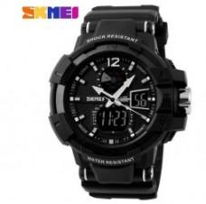 Купить Годинник SKMEI 1040 Black АКЦІЯ! в интернет-магазине Каптерка в Киеве и Украине