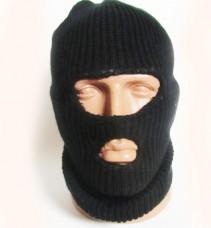 Купить Балаклава REIS вязанная черная в интернет-магазине Каптерка в Киеве и Украине