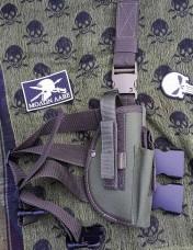 Кобура на стегно пістолетна Олива