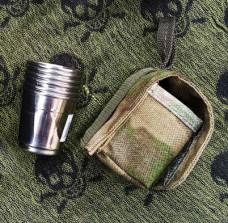 Набор 6 рюмок в камуфлированном чехле