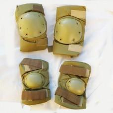Комплект наколенники-налокотники цвет койот Распродажа