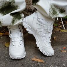 Белые зимние ботинки СКИДКА 20%