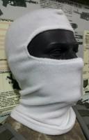 Балаклава флисовая белая комфорт холод * Специальная Цена