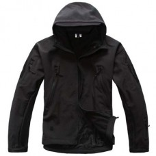 Купить Куртка софтшел ESDY Чорна  в интернет-магазине Каптерка в Киеве и Украине