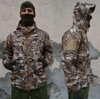 Куртка софтшел ESDY Multicam