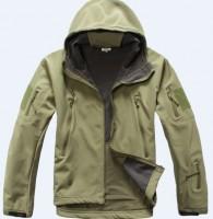 Куртка софтшелл Олива с капюшоном. Специальная цена!