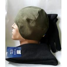 "Комплект ""Согрей бойца"" - носки перчатки шапка"