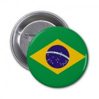 Значок флаг Бразилии