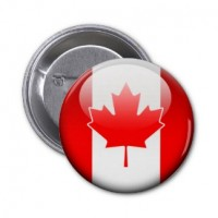 Значок флаг Канады