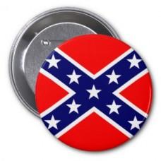 Значок флаг Конфедерации