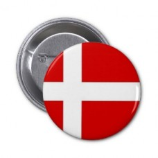 Значок флаг Дании