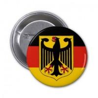 Значок флаг ФРГ