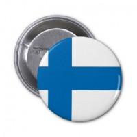 Значок флаг Финляндии