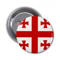 Значок флаг Грузии