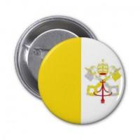 Значок флаг Ватикана