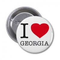 Значок Я люблю Грузию