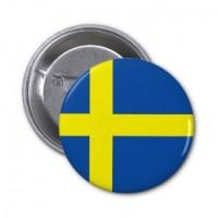 Значок флаг Швеции