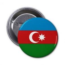 Флаг Азербайджана значок