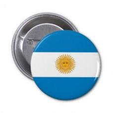 Значок флаг Аргентины