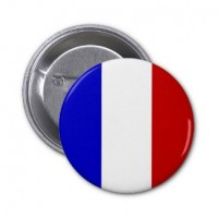 Флаг Франции значок