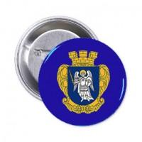 Значок Київ с гербом