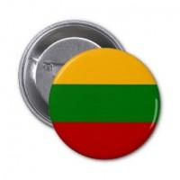Значок флаг Литвы