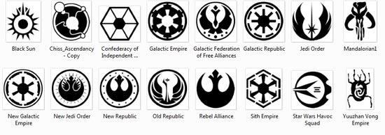 Символика Звездных Войн