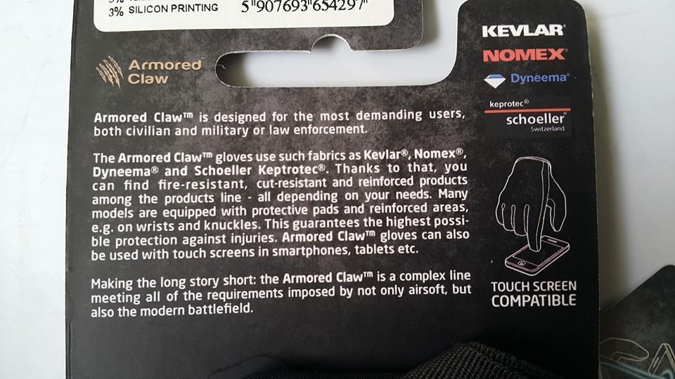 перчатки  NOMEX KEVLAR