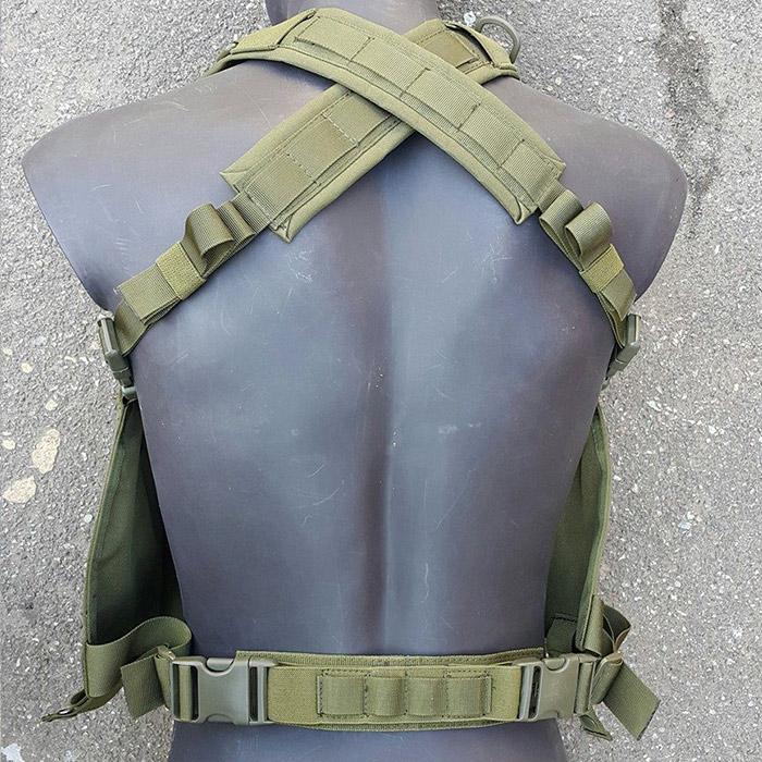 разгрузка - крепление на спине и поясе