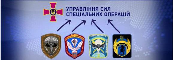 ССО Украины состав управління сил спеціальних операцій