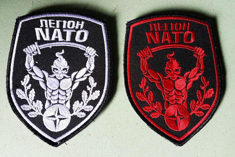 легион НАТО шеврон купить