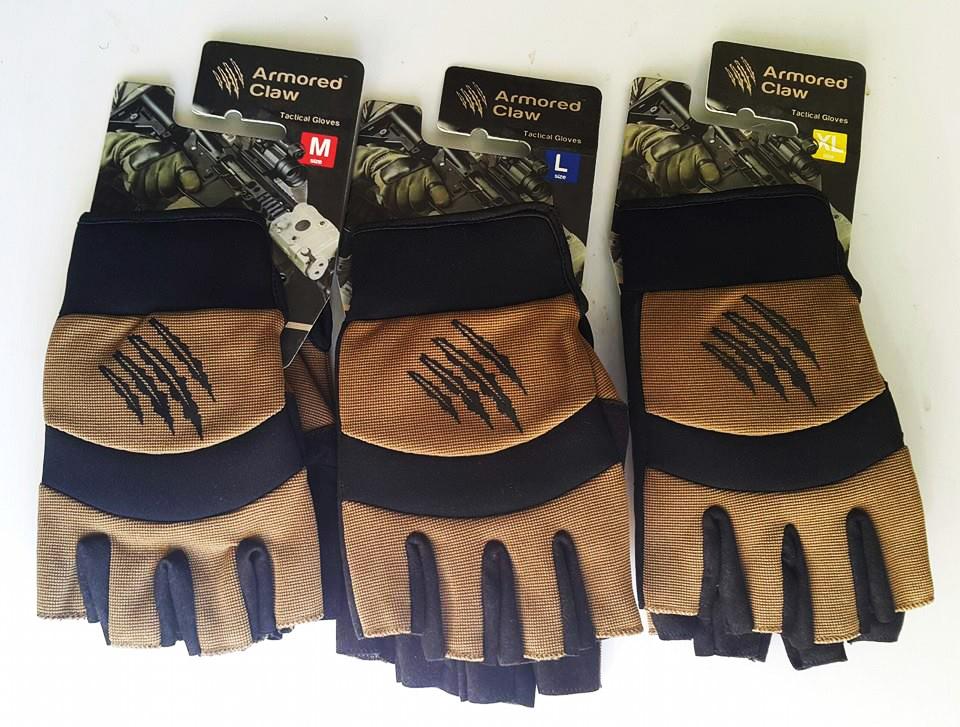 перчатки без пальцев кевлар